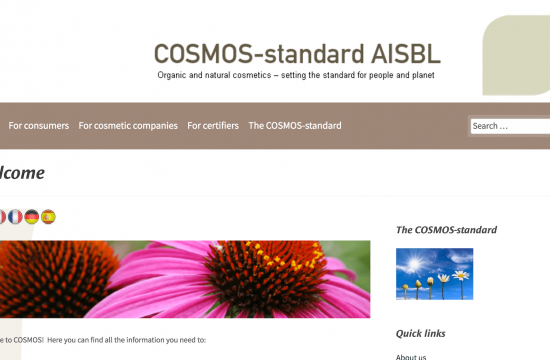 label bio cosmos