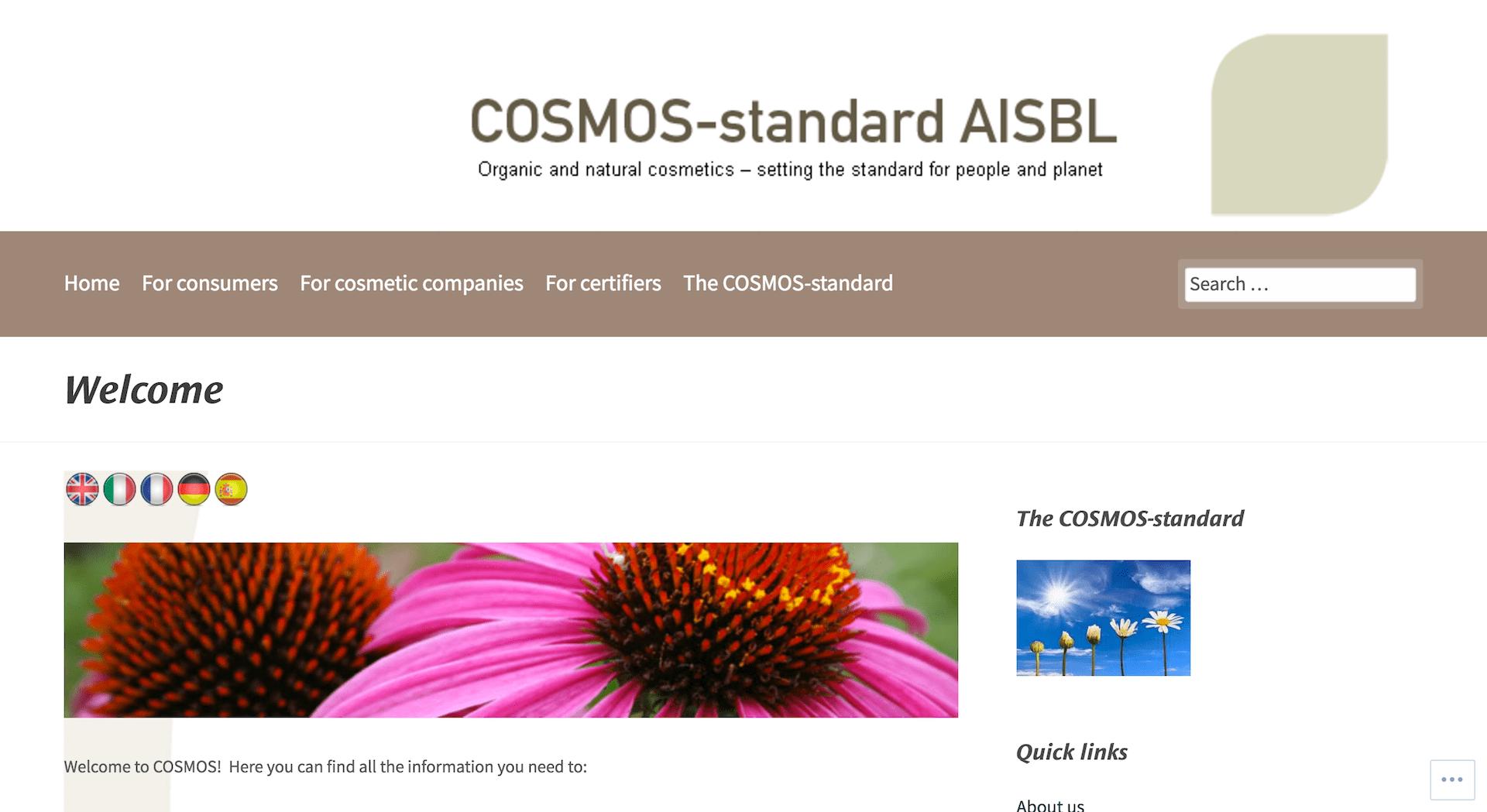label bio cosmos